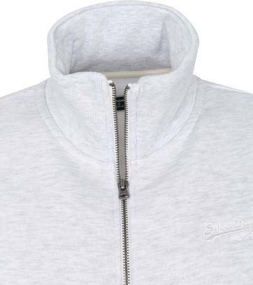 Superdry Classic Zip Sweater Grey