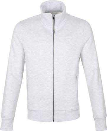 Superdry Classic Zip Sweater Grey