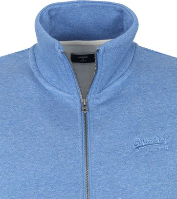 Superdry Classic Zip Vest Blauw