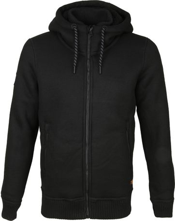 Superdry Expedition Sweatjacke Schwarz