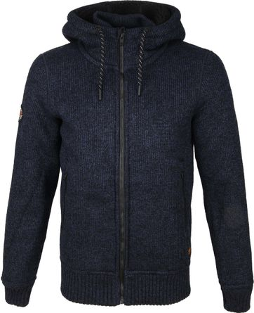 Superdry Expedition Zip Hoodie Navy