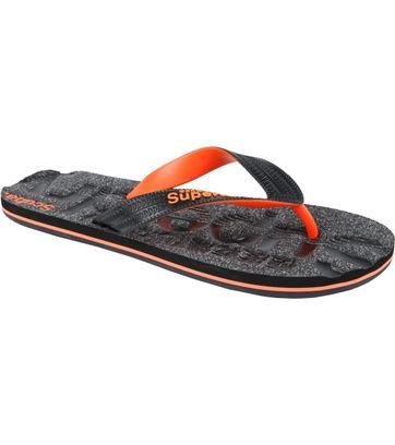 Superdry Flip Flops Black Grit