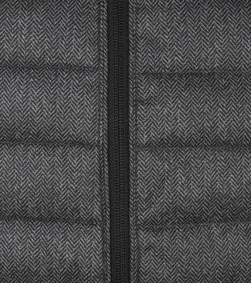 Superdry Fuji Jas Herringbone Donkergrijs