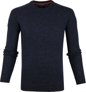Superdry Harlo Crew Pullover Navy