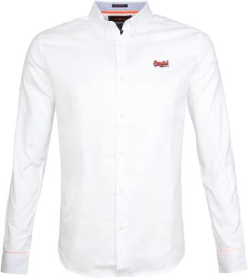 Superdry Hemd Weiß