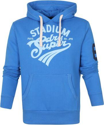 Superdry Hoodie Collegiate Blau
