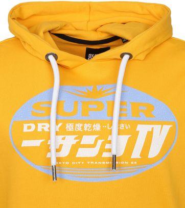 Superdry Hoodie Gasoline Yellow