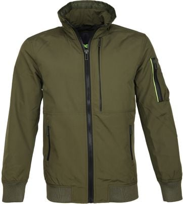 Superdry Jas Moody Light Bomber Groen