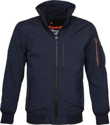 Superdry Jas Moody Light Bomber Navy