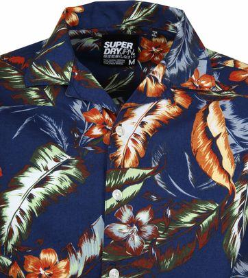 Superdry Overhemd Hawaiian Navy