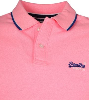 Superdry Polo Poolside Roze