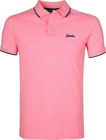 Superdry Poloshirt Poolside Rosa