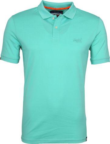 Superdry Poloshirt Premium Turquoise