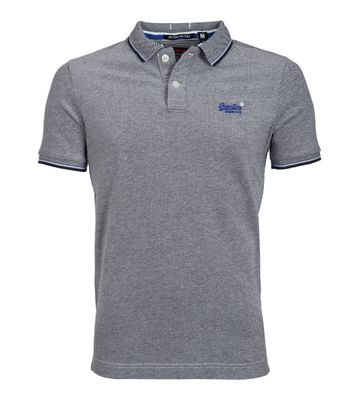 Superdry Poolside Polo Dunkelblau