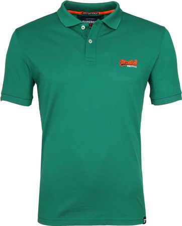Superdry Premium Polo Green