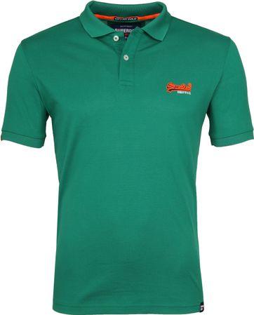 Superdry Premium Poloshirt Grün