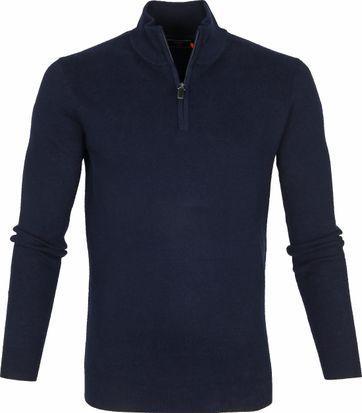 Superdry Pullover Half Zip Navy