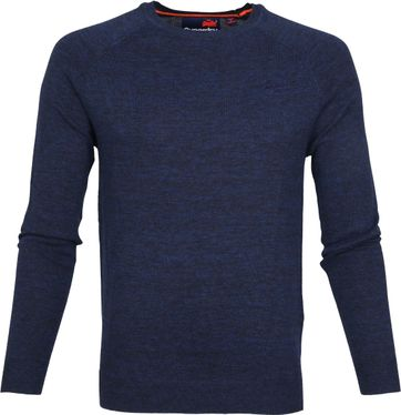 Superdry Pullover Ocean City Blue