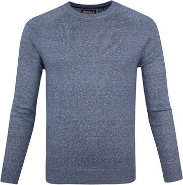Superdry Pullover OL Cotton Crew Blau