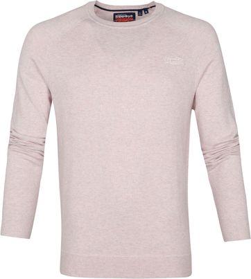 Superdry Pullover Orange Label Pink