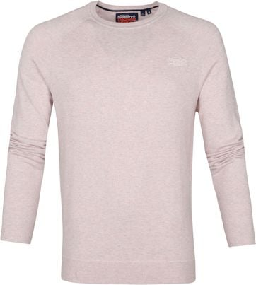 Superdry Pullover Orange Label Roze