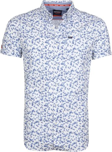 Superdry Shoreditch Hemd Blume