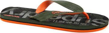 Superdry Slippers Scuba Grit Army