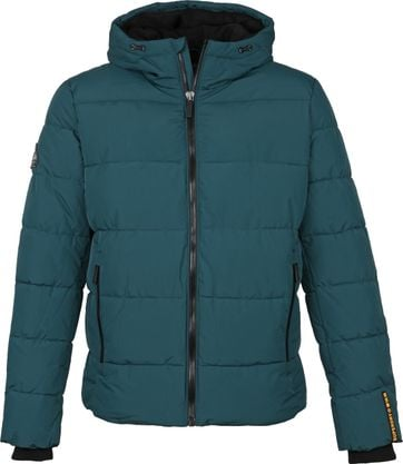 Superdry Sports PufferJacke Dunkelgrün
