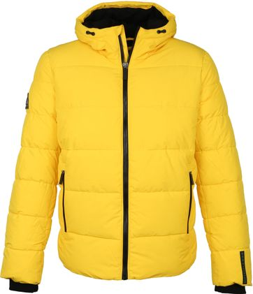 Superdry Sports PufferJacke Gelb