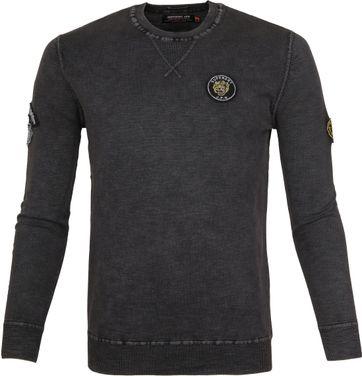 Superdry Sweater Badged Dunkelblau