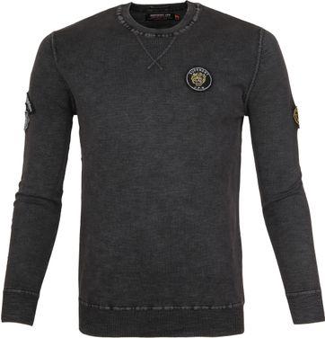 Superdry Sweater Badged Grau