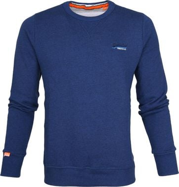 Superdry Sweater Blue Melange