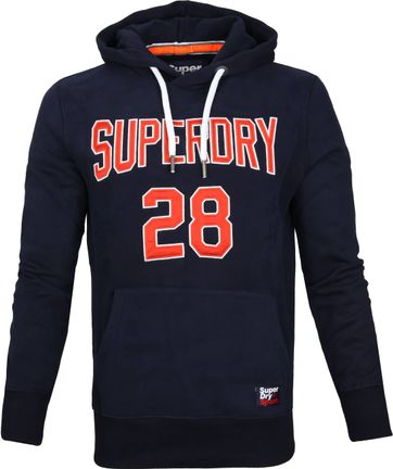 Superdry Sweater Logo Dunkelblau