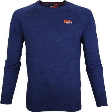 Superdry Sweater Melange Blue