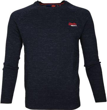 Superdry Sweater Melange Navy