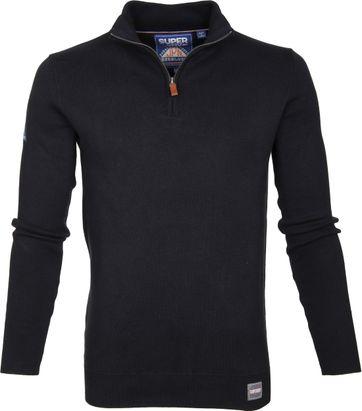 Superdry Sweater Navy Zipper