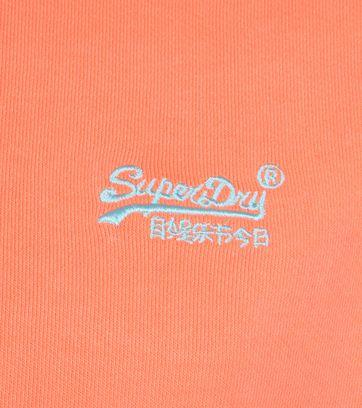 Superdry Sweater Pastelline Oranje