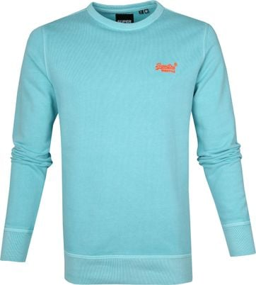 Superdry Sweater Pastelline Turquoise