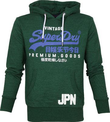 Superdry Sweater Vintage Dark Green