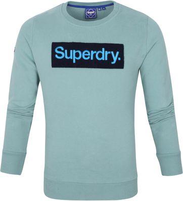 Superdry Sweater Workwear Hellblau