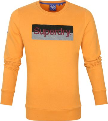 Superdry Sweater Workwear Orange