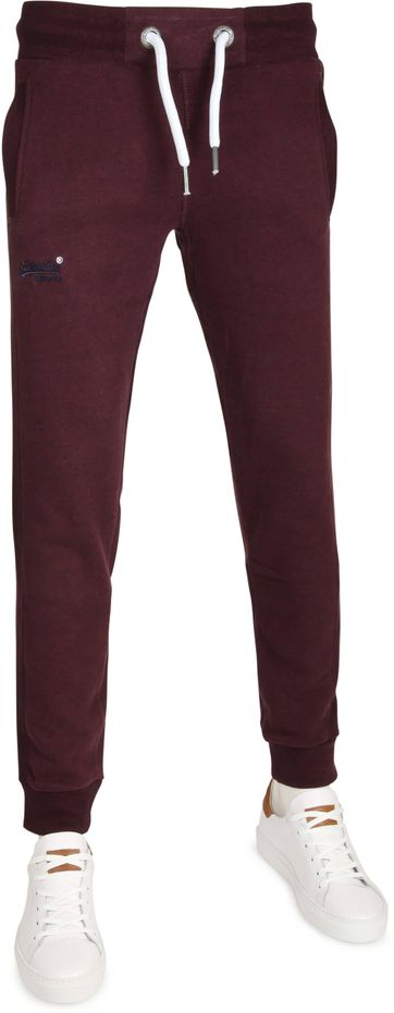 Superdry Sweatpants Paars