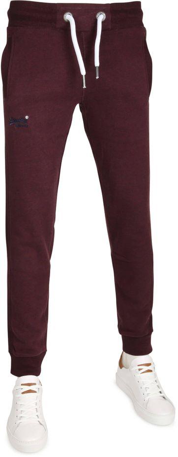 Superdry Sweatpants Purple