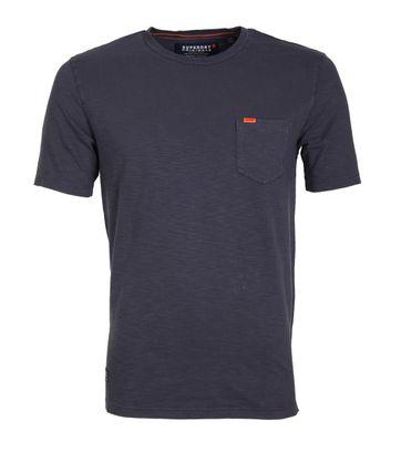 Superdry T-Shirt Dry Originals Dunkelblau