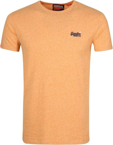 Superdry T-Shirt Embroidery Orange