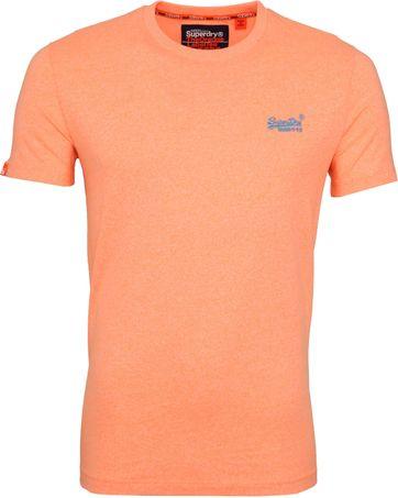 Superdry T-Shirt Fluro Oranje