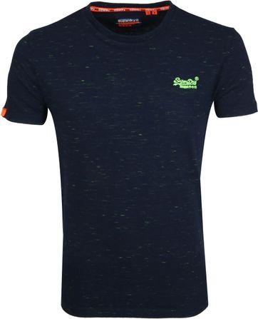 Superdry T-shirt Navy O-Ausschnitt