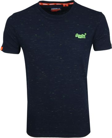 Superdry T-shirt Navy O-Neck