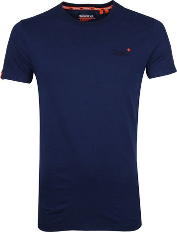 Superdry T-shirt Navy Streifen