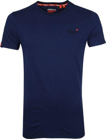 Superdry T-shirt Navy Strepen
